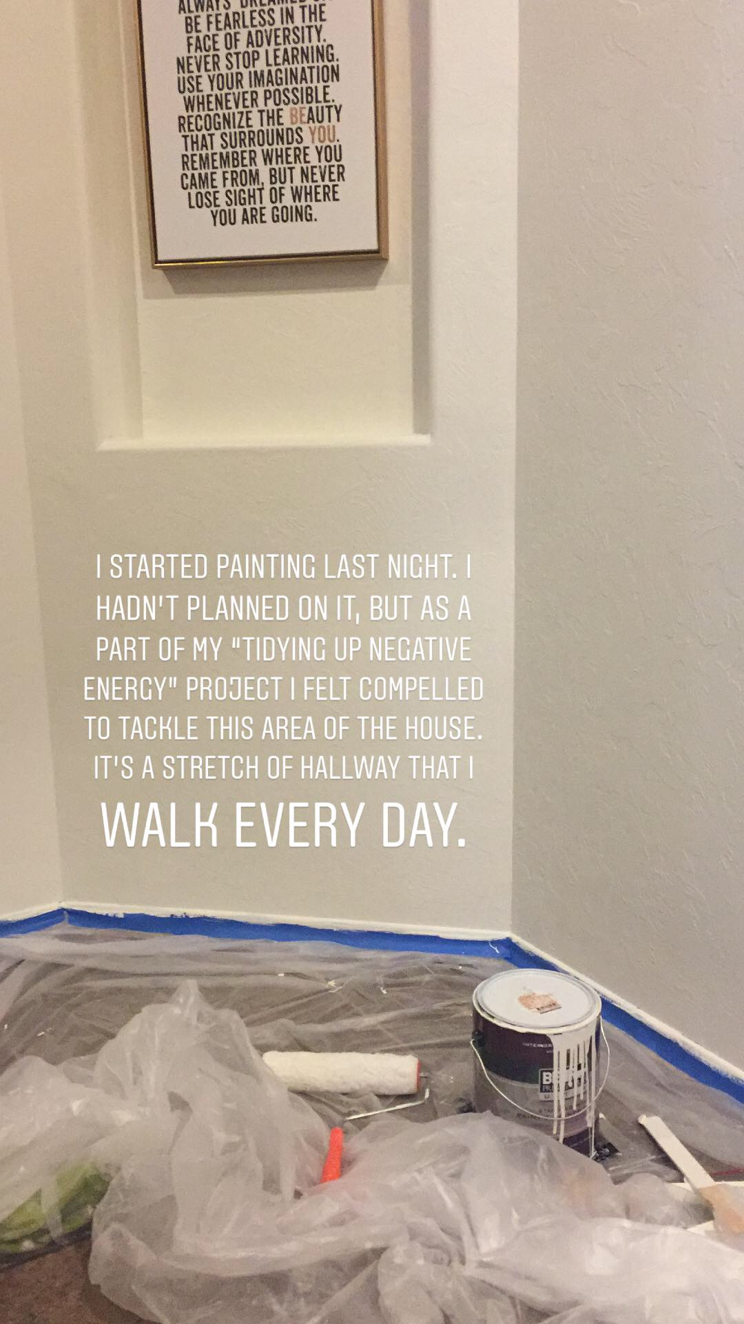 The Art of Tidying up Negative Energy: Hallways