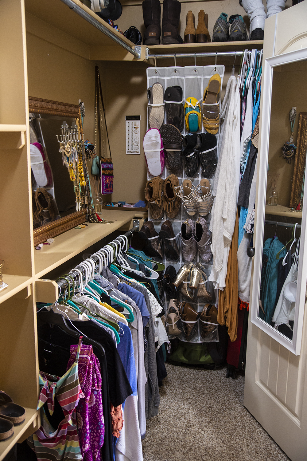 The Art of Tidying Up Negative Energy: Bedroom Closet