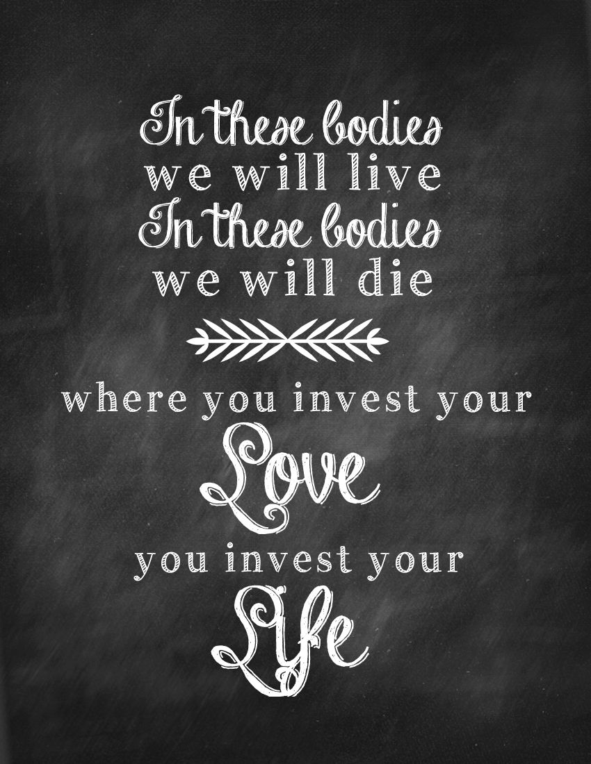 Mumford and Sons Love Quote