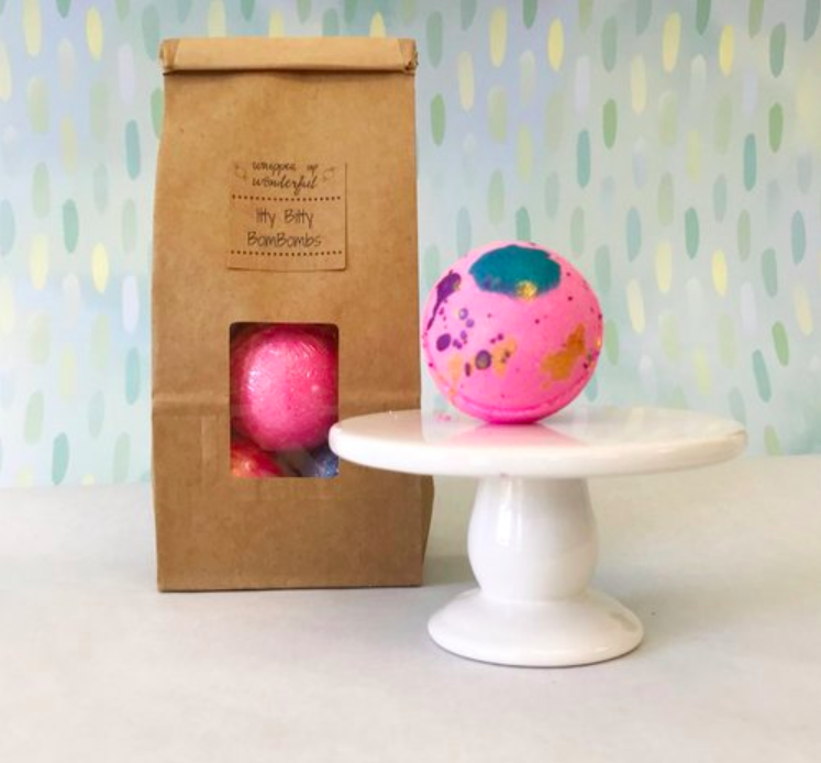 CBD Itty Bitty Bath Bombs